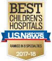 U.S. News Best Children's Hospital 2017-2018